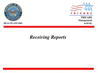 Receiving Reports