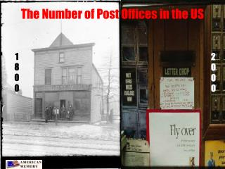 The Number of Post Offices in the US
