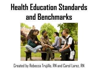 Health Education Standards and Benchmarks