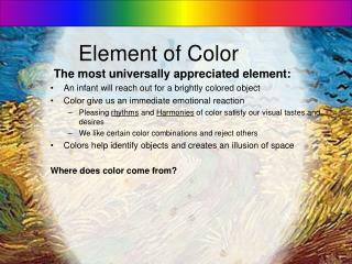 Element of Color