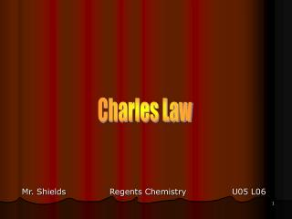 Charles Law