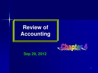Review of Accounting
