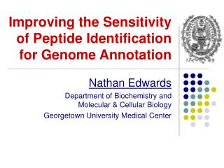 Improving the Sensitivity of Peptide Identification for Genome Annotation
