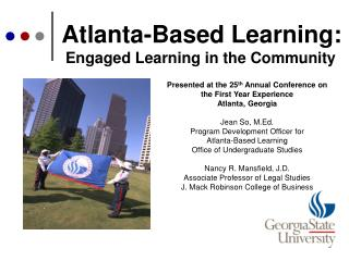 Atlanta-Based Learning:
