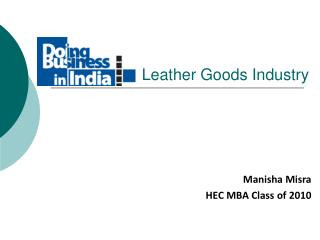 Leather Goods Industry