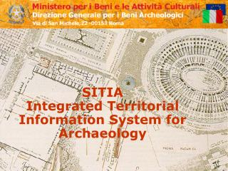 SITIA  Integrated Territorial Information System for Archaeology
