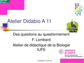 Atelier Didabio A 11