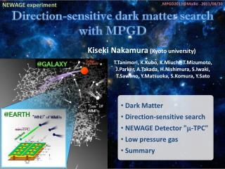 Direction-sensitive dark matter search with MPGD
