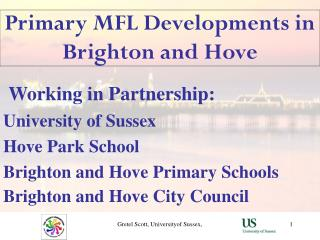 Primary MFL Developments in Brighton and Hove