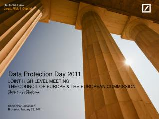 Data Protection Day 2011