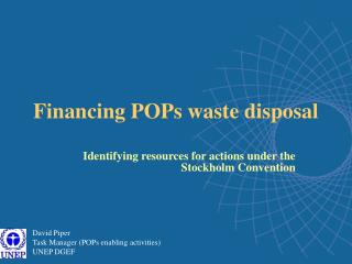 Financing POPs waste disposal