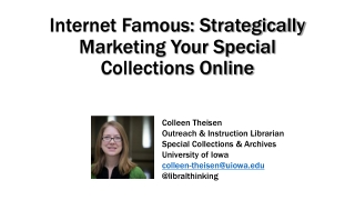 Social Networking and Libraries