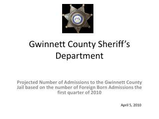 Gwinnett County Sheriff's Department