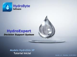 HydroExpert Decision Support System