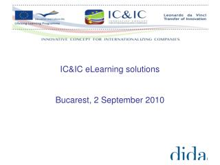 IC&IC eLearning solutions