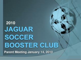 Jaguar Soccer Booster Club