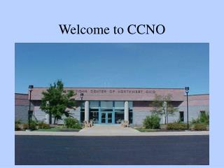 Welcome to CCNO