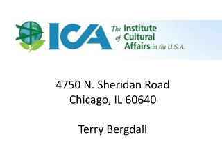 4750 N. Sheridan Road Chicago, IL 60640 Terry Bergdall