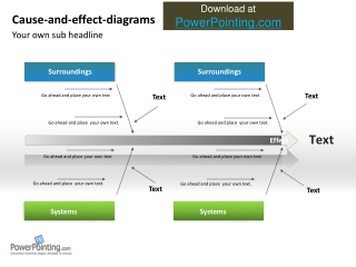 Powerpoint Fishbone diagram