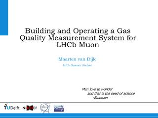 Building and Operating a Gas Quality Measurement System for LHCb Muon