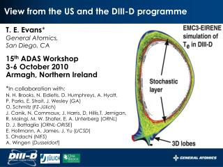 View from the US and the DIII-D programme