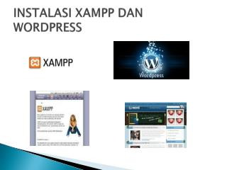 INSTALASI XAMPP DAN WORDPRESS