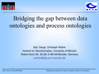 Bridging the gap between data ontologies and process ontologies