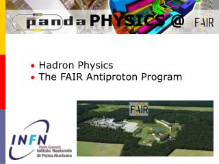 Hadron  Physics The FAIR  Antiproton  Program