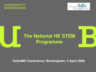 The National HE STEM Programme