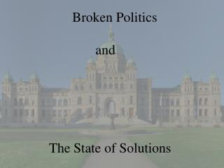 The State of Solutions