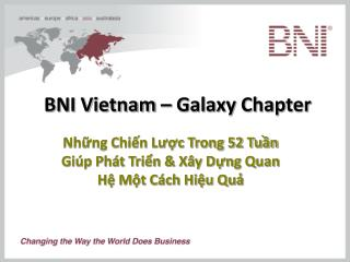 BNI Vietnam – Galaxy Chapter