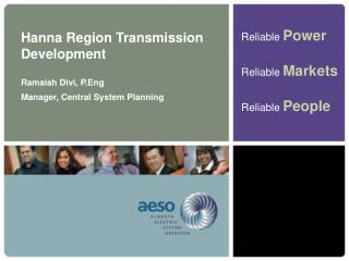 Hanna Region Transmission Development