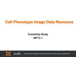 Cell Phenotype Image Data Resource