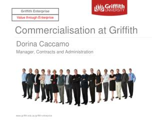 Commercialisation at Griffith