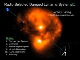 Radio Selected Damped Lyman    Systems