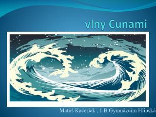 vlny Cunami