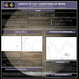 -Seasonal variations in  D LOD are associated with the global atmospheric dynamics