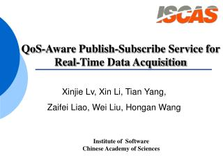 QoS-Aware Publish-Subscribe Service for  Real-Time Data Acquisition