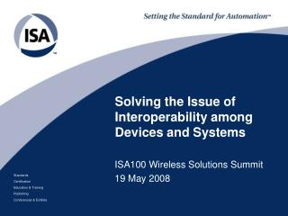 Solving the Issue of Interoperability among Devices and Systems