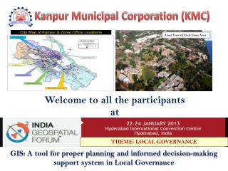 GIS: A tool for proper planning and informed decision-making support system in Local Governance