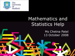 Mathematics and Statistics Help