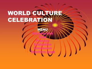 WORLD CULTURE CELEBRATION
