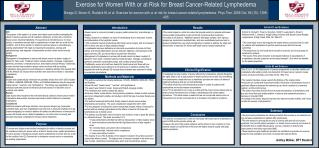 Exercise for Women With or at Risk for Breast Cancer-Related Lymphedema