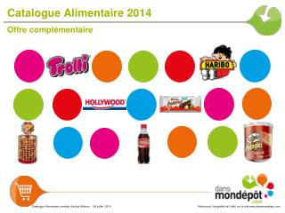 Catalogue Alimentaire 2014
