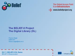 The BELIEF-II Project The Digital Library (DL)