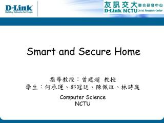 Smart and Secure Home