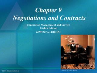 Chapter 9  Negotiations and Contracts