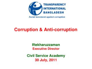 Corruption & Anti-corruption