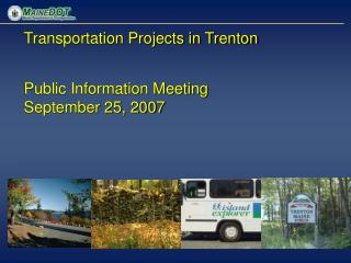 Transportation Projects in Trenton