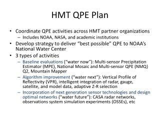 HMT QPE Plan